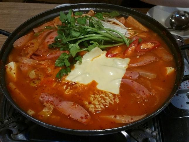 $35 kimchi stew