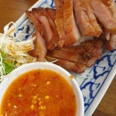 Grilled Pork Neck