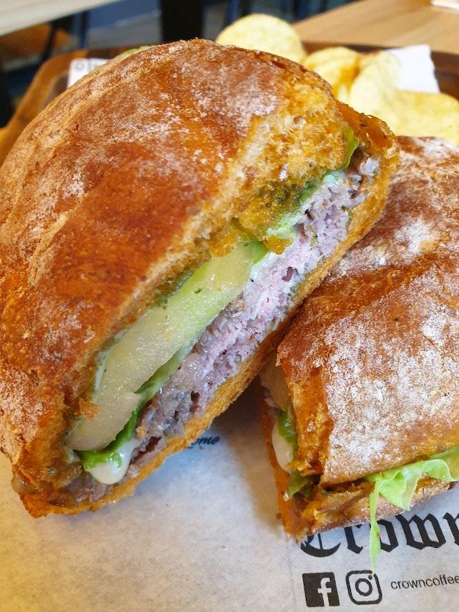 Smoked Duck Breast Sandwich
