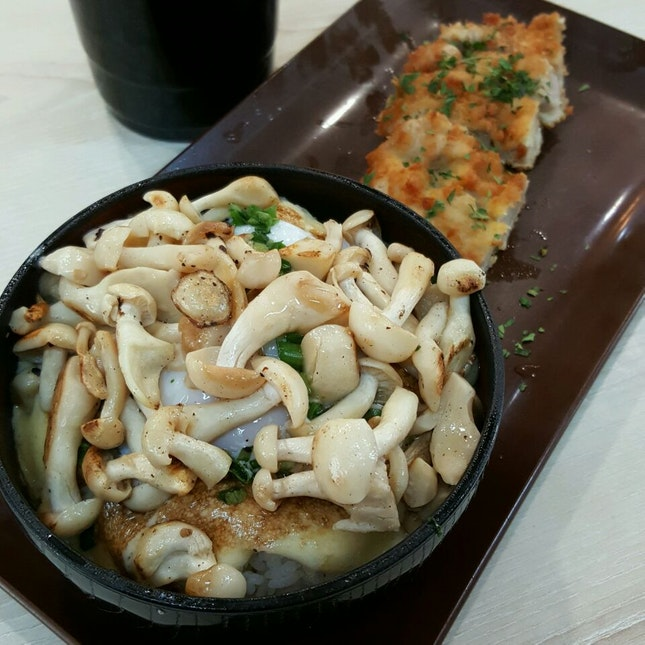 Chicken Katsu + Mushrooms