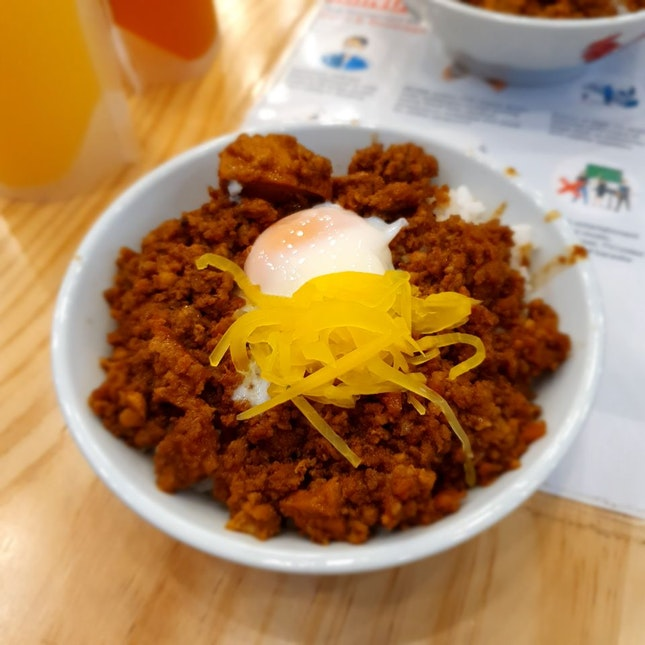 Minced Pork Rice Bowl