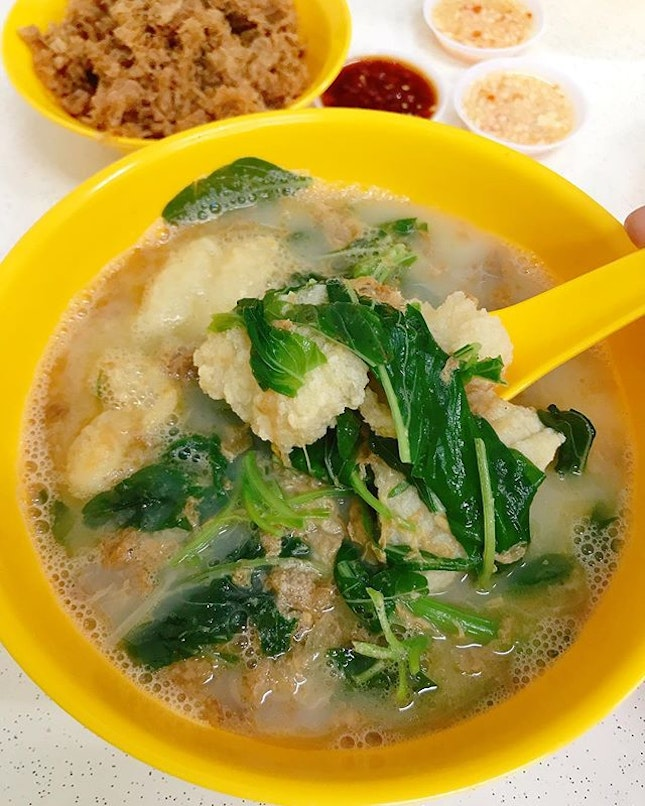 Blanco Court Fish Soup now has its own shophouse unit, from a tiny stall previously.