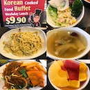 Korean cook food buffet just for $9.90 nett not much option but still a great deal😋 their kimchi pancake are great, very fast clear up once they refill 😆 The ginseng chicken soup also very nice 😄  韩国自助餐,觉得他们的泡菜煎饼和人参鸡汤特别好吃😋 .