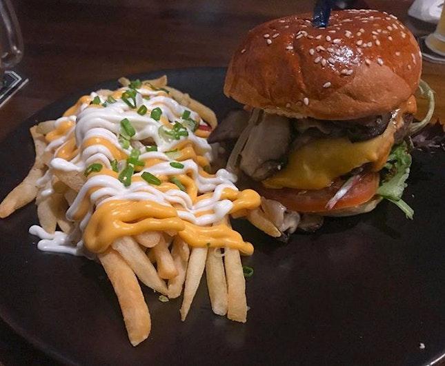 Shrooms burger 🍔