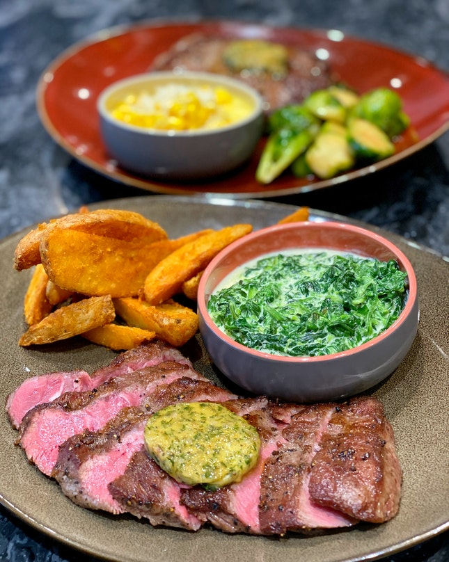 Flat Iron Steak (250g) $18++