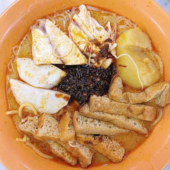 The Legendary Chilli of Ah Heng Curry Chicken Bee Hoon Mee