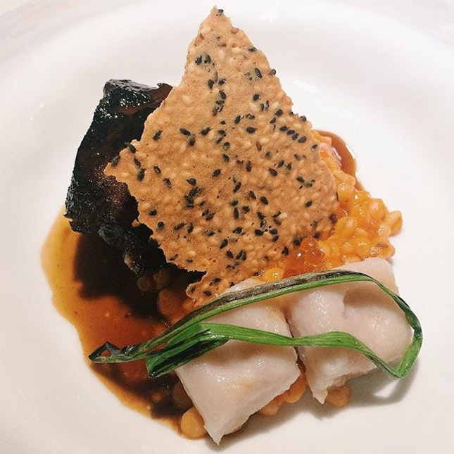 Nostagia – wagyu beef jowl, gnocchi, red date.