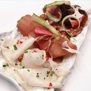 The Early Fatback: Chef's Charcuterie Platter from 5th Quarter's free-flow Sunday brunch menu.