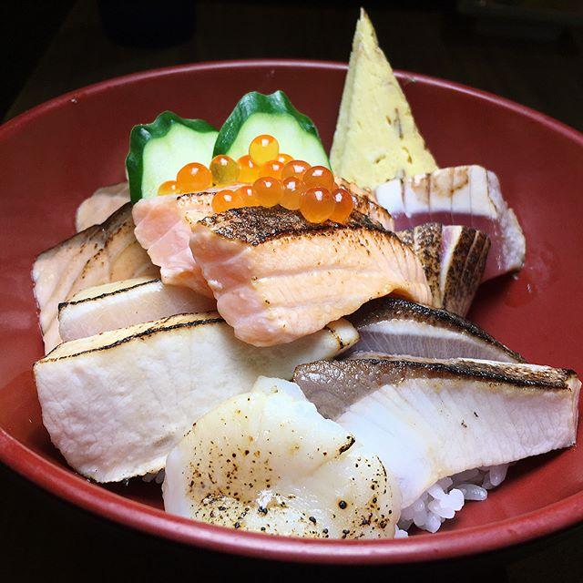 Aburi Kaisen Don from The Sushi Bar.