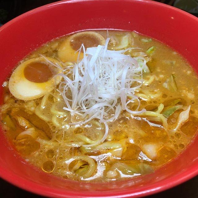 Yamazaki Ebi Miso Ramen from Jimoto-Ya, situated along Nankin Row near China Square Central.
