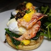 Lobster Egg's Benedict from The Market Grill (@themarketgrillsg).
