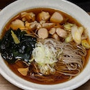 The Early Fatbacks: Tori Nanban Soba from Tokyo Soba, a hole-in-the-wall soba concept situated along Gopeng Street.
