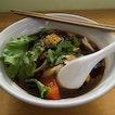 Vegetarian Bak Ku Teh Mee Sua.