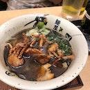 Softshell Crab Ramen 🦀  #ramen #fusion #orchard #takashimaya #burpple #burrplesg