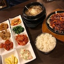 Korean Dinner #beautyworld #korean #bulgogi #burpple #burpplesg