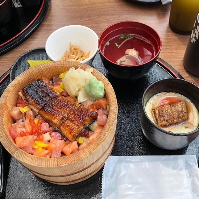 My Unagi Bara Chirashi Don #burpple #burpplesg #suntec #eatatseven #japanese #chirashidon #unagi