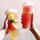 Signature Fruit Tea & Lychee Berry