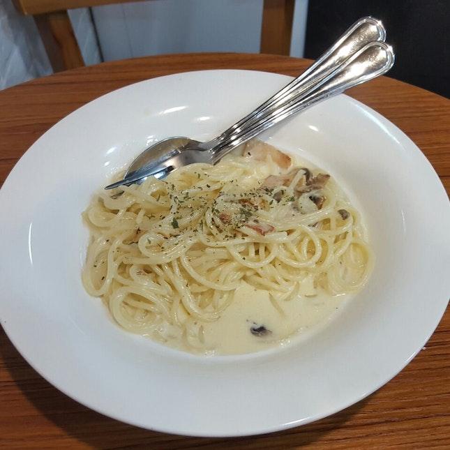 Cheap & tasty Spaghetti Carbonara