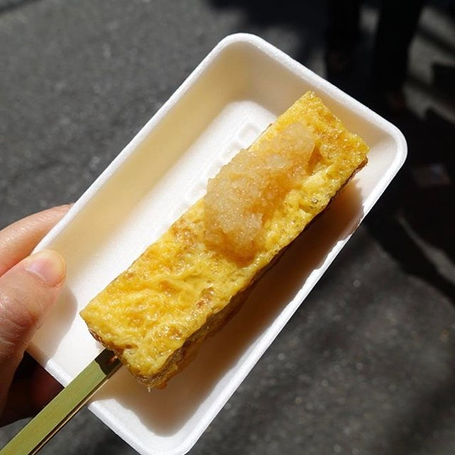 Japanese egg roll stick.