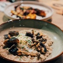 Mushroom Risotto With Sous Vide Egg And Parmiggiano