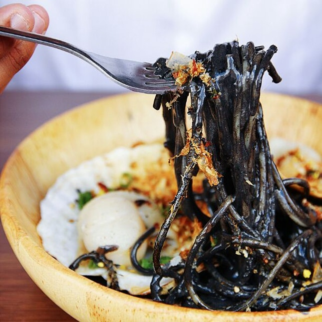 Surprisingly one of the better squid ink pastas