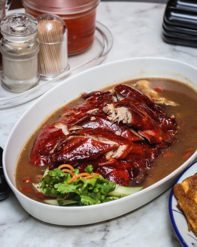 A great roast duck, but not necessarily a good 当归烧鸭