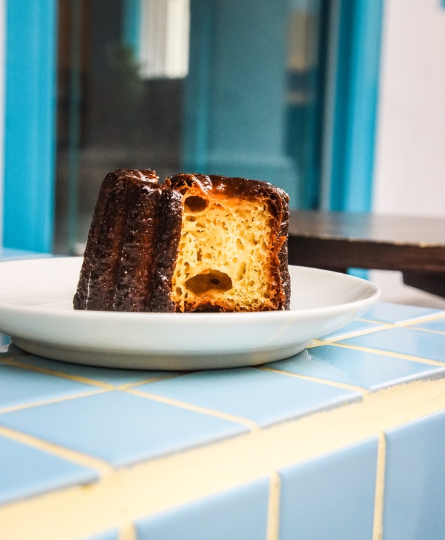 One of the better canelés around, I've gotta say