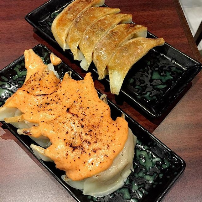 WHY NO CHEESE GYOZA AT ION?!