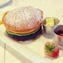 Rainbow pancake~ 🌈