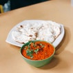 Butter Chicken, Plain Naan