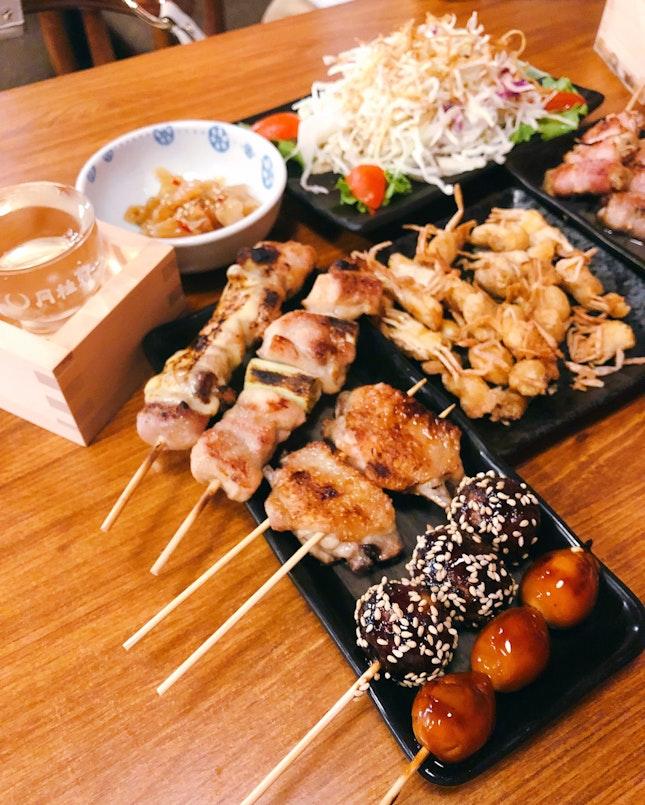 Chicken Set A & Pork Set C ($28.90++ & 29.90++, On Burpple Beyond), Sawagani ($7.80++)