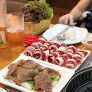 Bulgogi With Vegetables ($19+ U.P.), Beef Brisket ($22.80+ U.P.); Both On Burpplebeyond