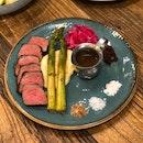 Striploin Steak ($21.50++)