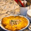 Crabby Omelette ($12.90+; On Burpplebeyond)