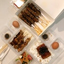 Skewer Set A & B ($10.90), Assorted Skewers ($1.50-$3.50)