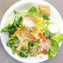 Cedele salad ($10.90) for lunch because #healthy #burpple #burppletastemaker #salad #eatclean #hackmyplate