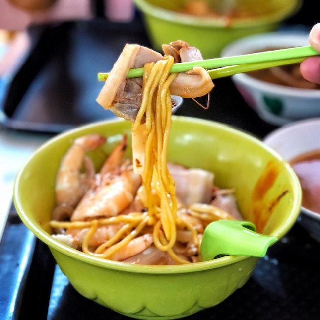 Prawn Noodles ($5-6)