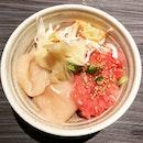 Mini don - hotate, king kani, & chopped toro 😍👍🏼