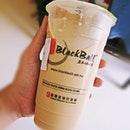 Went groceries shopping with grandma & rewarded myself with Blackball's milk tea for being such a good boy!