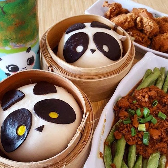 Panda Bao & Side Dishes
