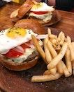 Angus Beef Burger ($18) .