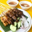 Chicken/Mutton/Pork Satay (0.70/stick) .