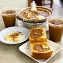 Kaya Toast Set, Claypot Ee Mian & Iced Kopi