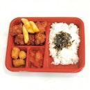 💕💕💕 Kkuldak Combo 💕💕 Honey chicken with tater-tots and tteokbokki 😋😋😋 _________________________________ #koreanchicken #koreanfood #kimchi #korean #lunch #foodpics #sgfood #foodsg #sgfoodies #sgfoodie #foodporn #foodgasm #foodcoma #instagood #foodie #foodies #foodgram #igfood #instadaily #cafesg #vsco #instafood #sgcafe #yummy #vscofood #igers  #foodpics #foodphotography #foodstyling #burpple