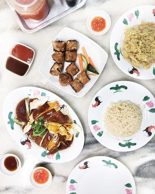 Which restaurant has the best chicken rice?