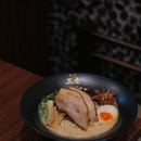 Located at 66 Circular Road, @menyasanjiboatquay serves Kagoshima-style ramen and mazesoba.