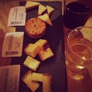 Cheese and wine #food #foodporn