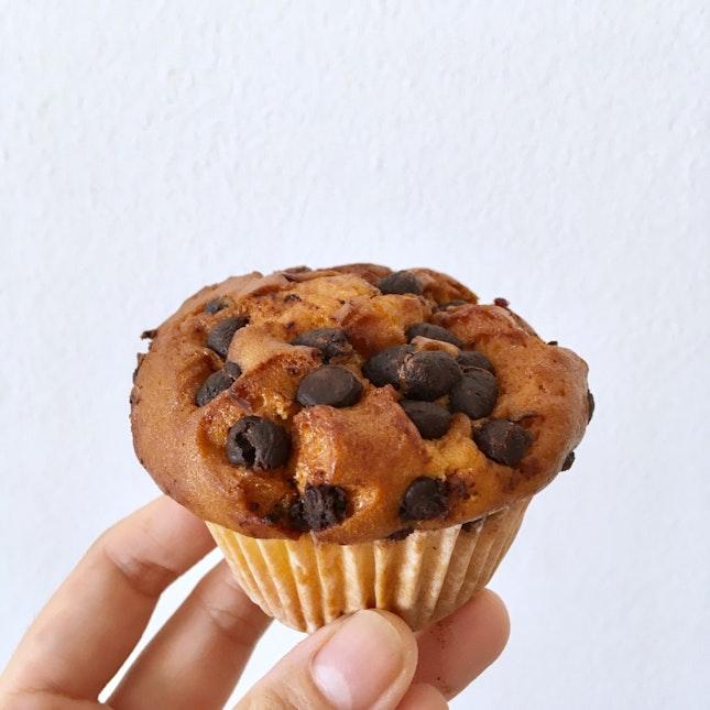 Chocolate Chip Muffin ($1.60)