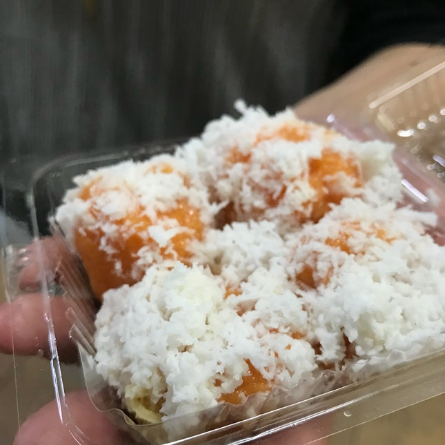 Sweet Potato Ondeh Ondeh $3.20