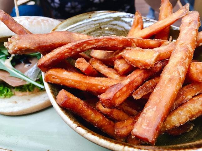 Sweet Potato Fries ($6)